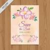 การ์ดแต่งงาน Wedding card สไตล์การออกแบบดีไซน์แบบโทนสีชมพูและตกแต่งด้วยดอกไม้ช่อใหญ่สไตล์วินเทจ การ์ดงานแต่ง ไว้สำหรับ เรียนเชิญแขกผู้มีเกียรติเข้ามาร่วมงานแต่งงาน // ตัวอย่างดีไซน์ การ์ดแต่งงาน การ์ดเชิญ การ์ดสวยๆ