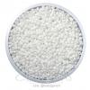 ลูกปัดเม็ดทราย 12/0 โทนด้าน สีขาว (15 กรัม)