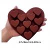 แม่พิมพ์ซิลิโคน หัวใจ 10 ช่อง 10 กรัม ราคา 180 บาท