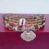 สร้อยข้อมือ Onyx abacus jewelry Brown