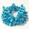 หิน Cat's Eyes10มิล สีฟ้าเข้ม(38 เม็ด)