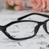 แว่นตาแฟชั่นเกาหลี สีดำ (พร้อมเลนส์)