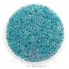 ลูกปัดเม็ดทราย 8/0 โทนมุก สีฟ้า (100 กรัม)