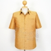 เสื้อสูทไหมผสมฝ้าย สีทอง ไซส์ XL