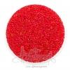 ลูกปัดเม็ดทราย 12/0 สอดไส้ สีแดง (100 กรัม)