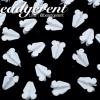 ดอกรัก ไซส์เล็ก ตราเสือ 12x15มม. สีขาว (100 กรัม)
