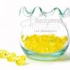 คริสตัลพลาสติก 10มิล สีเหลือง (125 กรัม)