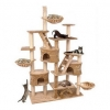 MU0070 คอนโดแมวห้าชั้น ขนาดใหญ่ ต้นไม้แมว มีบ้านอุโมงค์ กระบะนอน ของเล่นแขวน บันได ยึดติดเพดาน สูง 240-260 cm