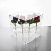 กล่องใส่ดอกกุหลาบ แบบ 9 ดอก / acrylic-flower-box
