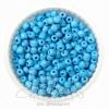 ลูกปัดเม็ดทราย 6/0 โทนด้าน สีฟ้า (100 กรัม)