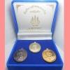 เหรียญหลวงปู่ทิม วัดละหารไร่ รุ่นบารมีอิสริโก วัดแม่น้ำคู่เก่า ปี 2554 ชุดกรรมการ เนื้ออัลปาก้า ทองเหลือง ทองแดง หลวงพ่อสาคร วัดหนองกรับ ปลุกเสก
