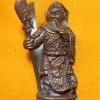 เทพกวนอู พิมพ์ใหญ่ รุ่น คูณเงิน คูณทอง หลวงพ่อคูณ วัดบ้านไร่ ปี 56 เนื้อสัมฤทธิ์