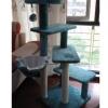MU0093 คอนโดแมวสี่ชั้น ต้นไม้แมว กระบะนอนพักผ่อน ของเล่นแขวน สูง 135 CM