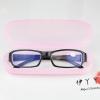 กล่องแว่นตาสีชมพู