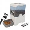 MU0042 เครื่องให้อาหารสัตว์เลี้ยงอัตโนมัติ จอดิจิตอล ใช้รีโมทควบคุมได้