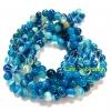 หิน Blue Agate 6มิล (60 เม็ด)