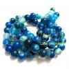 หิน blue agate 12มิล (32 เม็ด)