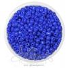 ลูกปัดเม็ดทราย 6/0 โทนด้าน สีน้ำเงินม่วง (100 กรัม)