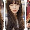 วิกผมหน้าม้ายาวทนความร้อน เกาหลี สวยใส น่ารัก มีสไตล์ (สีน้ำตาลเข้ม)