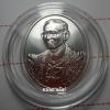 เหรียญพระบรมรูปในหลวง ร.๙ ที่ระลึก 100 ปี โรงพยาบาลจุฬาลงกรณ์ สภากาชาดไทย ปี 2557 เนื้อเงิน