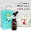 360 Natural Whitening Toner Serum