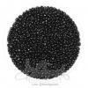 ลูกปัดเม็ดทราย 12/0 โทนด้าน สีดำ (15 กรัม)