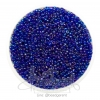 ลูกปัดเม็ดทราย 12/0 โทนรุ้ง สีน้ำเงิน (100 กรัม)