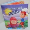 """หนังสือผ้า """" Terima kasih ya ALLAH """""""