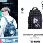 กระเป๋าเป้ TEO HENN GOT7 Style สีดำ