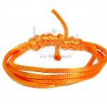 เชือกหางหนู 2มม. สีส้มสว่าง (1 หลา)