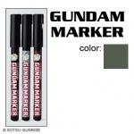 GM302-P Gundam Marker Extra Thin Type ปากกาหัวพู่กัน สีเทา