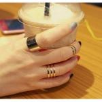 แหวนทอง 3 SET แฟชั่นเกาหลี