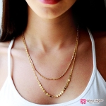 สร้อยคอ Double necklace Fashion Clothing