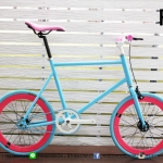 VENTUS Mini Fixed Gear - Pink/Blue
