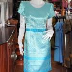 เดรสผ้าไหมลายไทย ไซส์ XL
