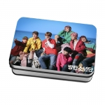 LOMO CARD +กล่องเหล็ก BTS Spring Day 40แผ่น