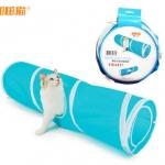 MU0013 อุโมงค์ที่นอนแมว ของเล่นแมวน้อย CRAZY Spiral cat tunnel
