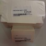 กล่องกระดาษขาว 100G 8.7*6.3*2.9cm