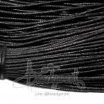 เชือกคอตตอน 1.5มม. สีดำ (90 หลา)