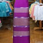 ผ้าซิ่นศิลามณี สีม่วง