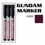 GM303-P Gundam Marker Extra Thin Type ปากกาหัวพูกันสีน้ำตาล