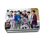 LOMO CARD + กล่องเหล็ก BTS FAKE LOVE 40รูป