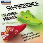 เทคโนโลยีรองเท้าแบด Victor