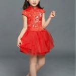 ชุดเดรส กี่เพ้า ชุดจีน ชุดเด็กใส่ตรุษจีนได้สวยมาก