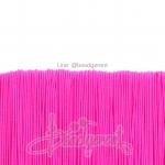ยางยืด เส้นกลม 1มม. สีชมพูสะท้อน (144 หลา)