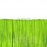ยางยืด เส้นกลม 1มม. สีเขียวสะท้อน (144 หลา)