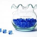 คริสตัลพลาสติก 8มิล สีน้ำเงิน (500 กรัม)