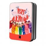LOMO CARD+กล่องเหล็ก BTS HAPPY EVER AFTER 50รูป