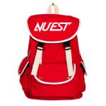 กระเป๋าเป้ NU'EST สีแดง