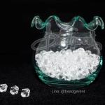 คริสตัลพลาสติก 6มิล สีขาว (500 กรัม)